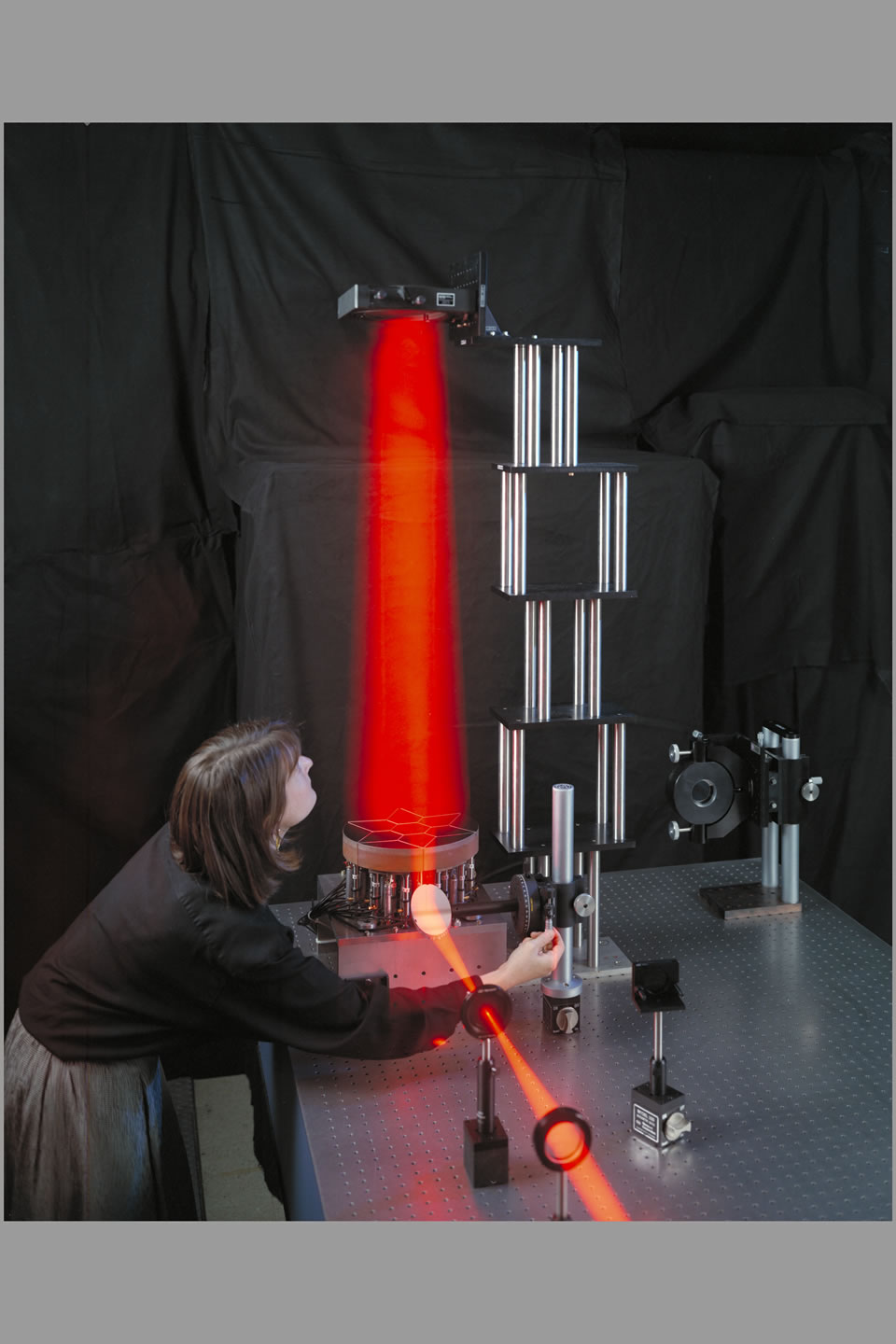 Thermoplastic hologram (laser) N-220